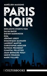 Cover Aurélien Massons PARIS NOIR