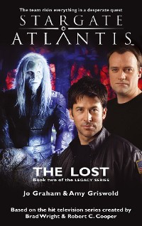 Cover STARGATE ATLANTIS The Lost (Legacy book 2)