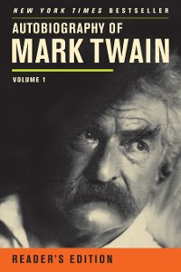 Cover Autobiography of Mark Twain