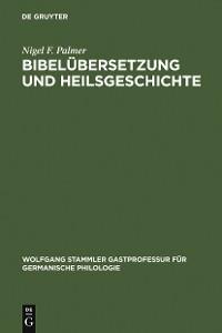 Cover Bibelübersetzung und Heilsgeschichte