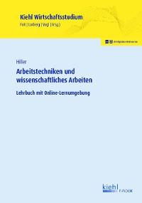 Cover Arbeitstechniken und wissenschaftliches Arbeiten