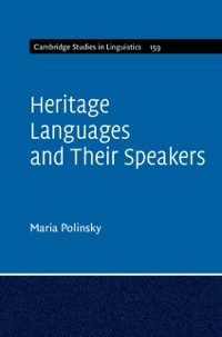 Cover Heritage Languages and their Speakers