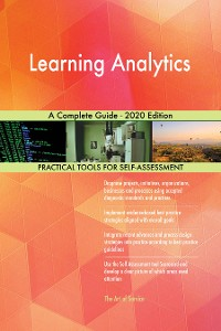 Cover Learning Analytics A Complete Guide - 2020 Edition