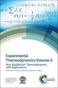 Cover Experimental Thermodynamics Volume X