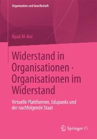 Cover Widerstand in Organisationen. Organisationen im Widerstand