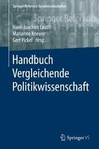 Cover Handbuch Vergleichende Politikwissenschaft