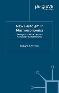 Cover New Paradigm in Macroeconomics