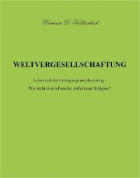 Cover WELTVERGESELLSCHAFTUNG