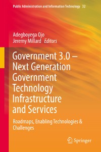 Cover Government 3.0 – Next Generation Government Technology Infrastructure and Services
