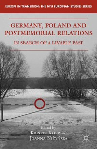 Cover Germany, Poland and Postmemorial Relations