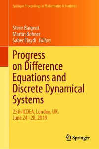 Cover Progress on Difference Equations and Discrete Dynamical Systems