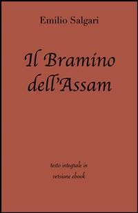 Cover Il bramino dell'Assam di Emilio Salgari in ebook