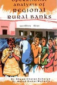 Cover Operational Analysis of Regional Rural Banks