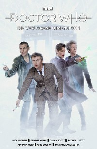 Cover Doctor Who - Die verlorene Dimension