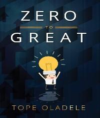 Cover Zero To Great