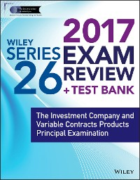 Cover Wiley FINRA Series 26 Exam Review 2017