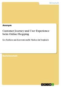 Cover Customer Journey und User Experience beim Online-Shopping
