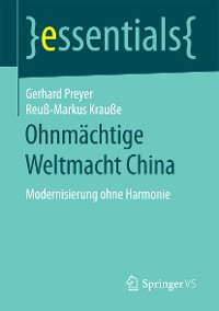 Cover Ohnmächtige Weltmacht China
