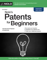 Cover Nolo's Patents for Beginners