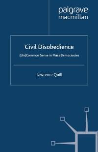 Cover Civil Disobedience
