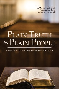 Cover Plain Truth for Plain People