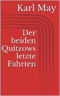Cover Der beiden Quitzows letzte Fahrten