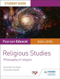 Cover Pearson Edexcel Religious Studies A level/AS Student Guide: Philosophy of Religion