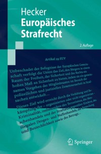 Cover Europaisches Strafrecht