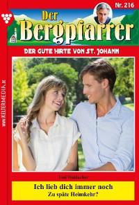 Cover Der Bergpfarrer 216 – Heimatroman