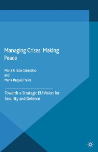 Cover Managing Crises, Making Peace