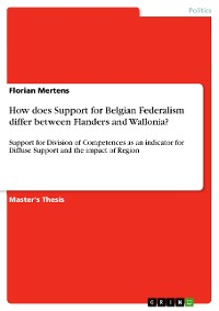 Cover How does Support for Belgian Federalism differ between Flanders and Wallonia?