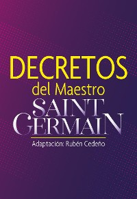 Cover Decretos del Maestro Saint Germain