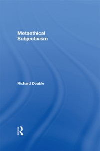 Cover Metaethical Subjectivism