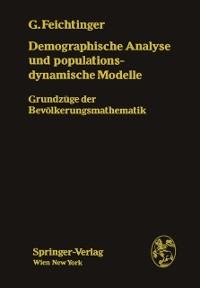 Cover Demographische Analyse und populationsdynamische Modelle