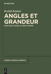 Cover Angles et Grandeur