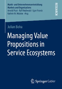 Cover Managing Value Propositions in Service Ecosystems
