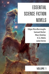Cover Essential Science Fiction Novels - Volume 1