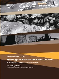 Cover Resurgent Resource Nationalism