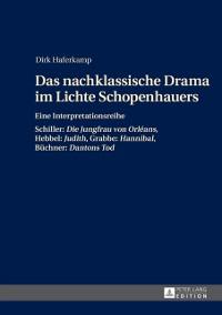 Cover Das nachklassische Drama im Lichte Schopenhauers