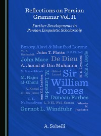 Cover Reflections on Persian Grammar Vol. II