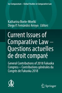Cover Current Issues of Comparative Law – Questions actuelles de droit comparé