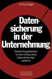 Cover Datensicherung in der Unternehmung