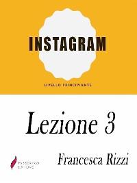 Cover Instagram Lezione 3