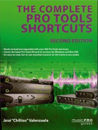 Cover The Complete Pro Tools Shortcuts
