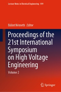 Cover Proceedings of the 21st International Symposium on High Voltage Engineering