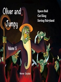 Cover Oliver and Jumpy, Stories 43-45