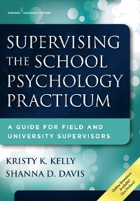 Cover Supervising the School Psychology Practicum
