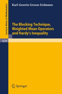 Cover Blocking Technique, Weighted Mean Operators and Hardy's Inequality