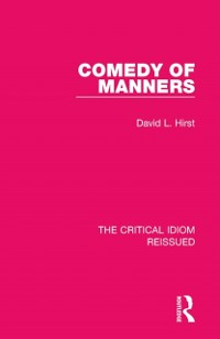 Cover Comedy of Manners