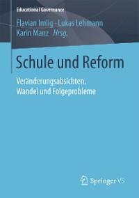 Cover Schule und Reform